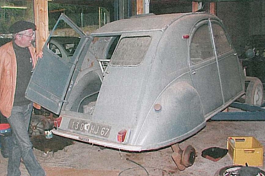 2CV AZ 1962